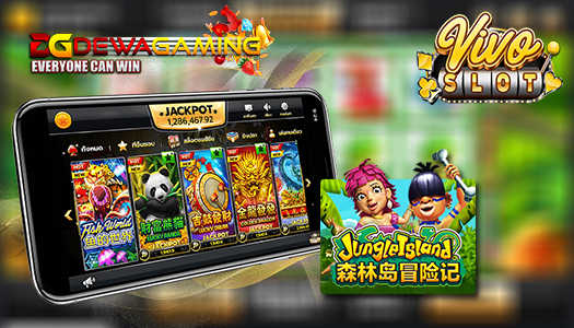Slot Jungle Island Vivoslot Freespin Melimpah